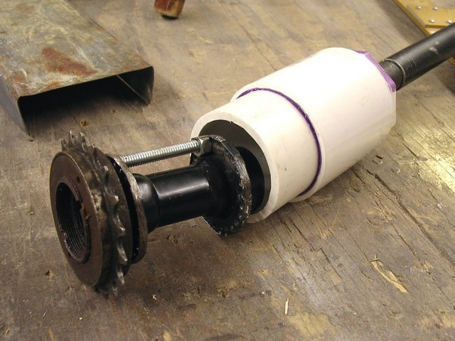 Mid-axle driveshaft