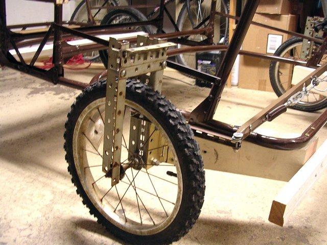 Original front wheels